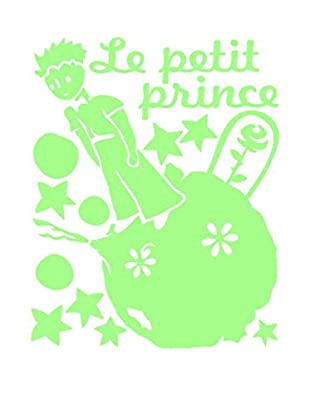 Ambiance Live Wandtattoo Fluorescent Le Petit Prince gelb