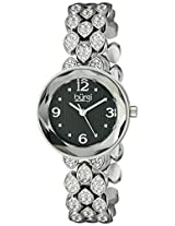 Burgi Women's BUR124SSB Analog Display Japanese Quartz Silver Watch