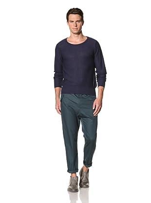 Camo Men's Vaglio Round Neck Pullover (Navy)