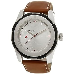 Fastrack 3099SL01 2013 White Dial Men's Watch