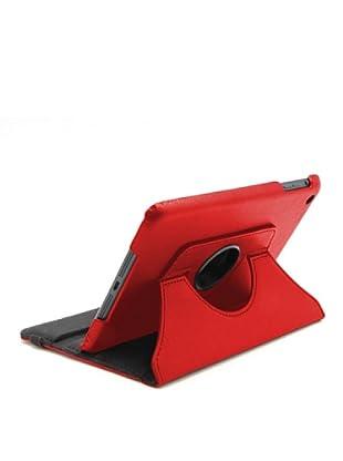 Unotec Funda Rotación Roja iPad Mini Roja