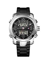Tommy Hilfiger Analog - Digital Black Dial Mens Watch - TH1790945J