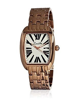 Bertha Uhr mit Japanischem Quarzuhrwerk Anastasia goldfarben 41 mm