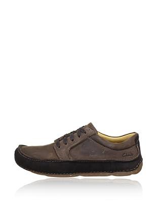 Clarks Leder Sneaker Mohave Way (Dunkelbraun)