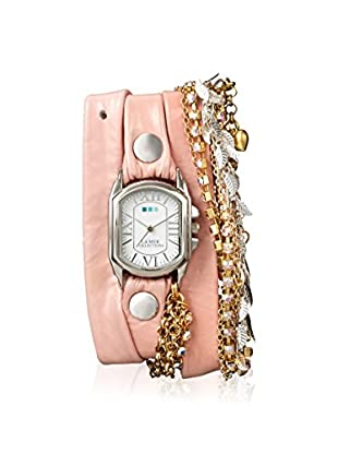 La Mer Collections Women's LM7619 Chateau Tokyo Pink Leather Watch
