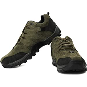 Woodland Outdoor Shoes Olive Green WDL0092