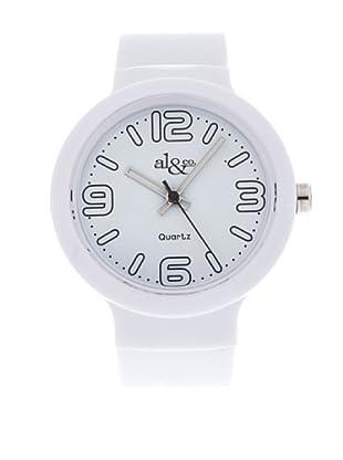 al&co Reloj L177A Blanco