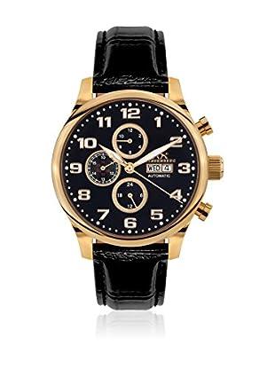 Hindenberg Reloj automático Man 210-H Excellence Negro 46 mm