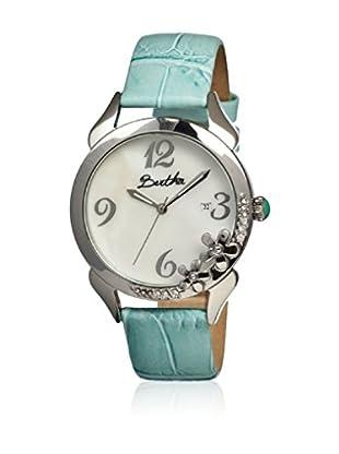 Bertha Uhr mit Japanischem Quarzuhrwerk Daisy blau 41 mm