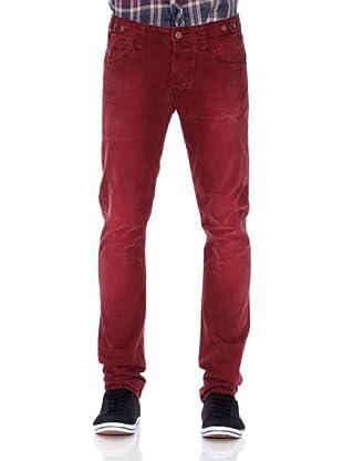 Pepe Jeans London Pantalón Dixon (Vino)