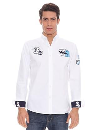 Valecuatro Camisa (blanco/marino)