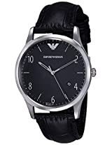 Emporio Armani Analog Black Dial Men's Watch - AR1865