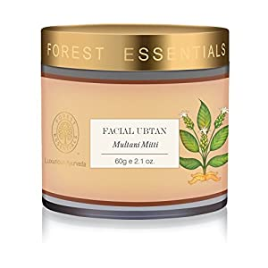 Forest Essentials Multani Mitti Facial Ubtan, 60g