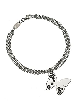 Nomination Pulsera Butterfly Negro