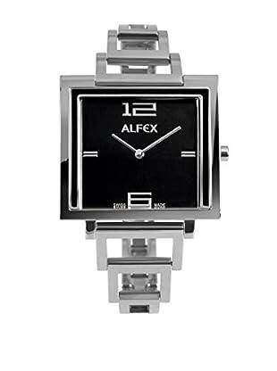 Alfex Quarzuhr 36 x 36 mm Metall