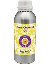Pure Coconut Oil 630ml - Cocus Nucifera 100% Natural Cold pressed