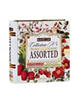 Basilur Collection No. 1 Foil Enveloped Assorted Tea Bags, 56g
