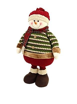 Figura Decorativa Muñeco De Nieve Extensible