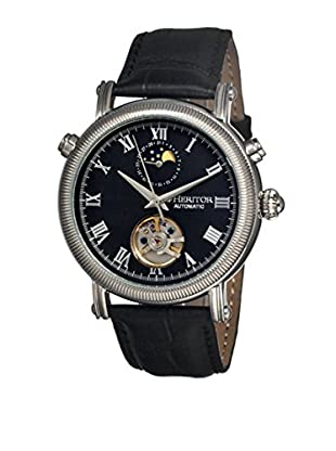 Heritor Automatic Uhr Kornberg Herhr1602 schwarz 48  mm