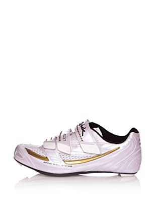 Spiuk Zapatillas Road Carbono (Blanco / Dorado)