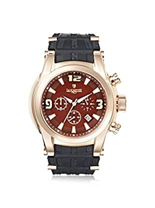 Lancaster Men's OLA0548RG/MR/NR Bongo Chrono Black/Brown Stainless Steel Watch