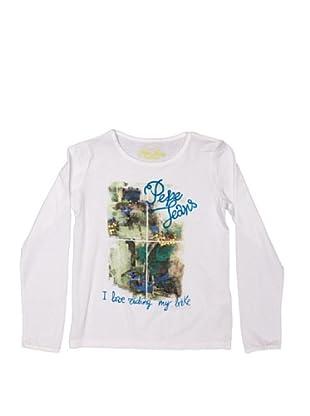 Pepe Jeans London Camiseta Massari (Blanco)
