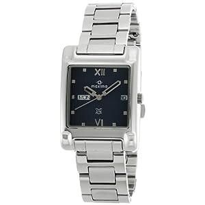Maxima 05878CTGW Analog Men's Watch-Silver