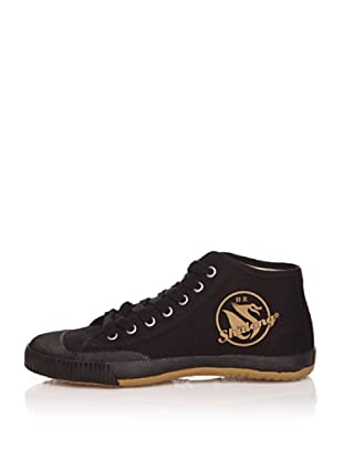 Shulong Zapatillas Shustreet High (Negro / Beige)