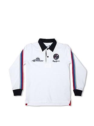 Pepe Jeans London Polo Circuit Junior (Blanco)