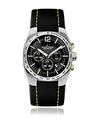 Jacques Lemans Quarzuhr Powerchrono 11 1-1688 schwarz 42 mm