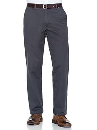 Dockers Pantalón Comfort De Algodón (Gris Oscuro)