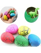 2Pcs Trumpet Funny Magic Growing Hatching Dinosaur Eggs Add Water Child Toy Gifts