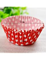 100pcs Paper Cake Cup Baking Cup Muffin Kitchen Cupcake