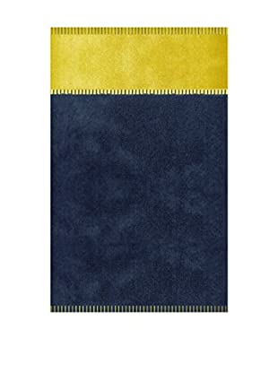 Manterol Toalla Playa Náutica (Azul / Amarillo)