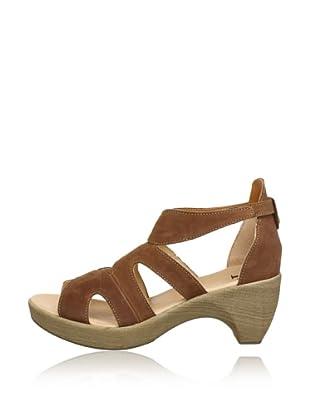 Think Sandalette Zeppa (Beige)