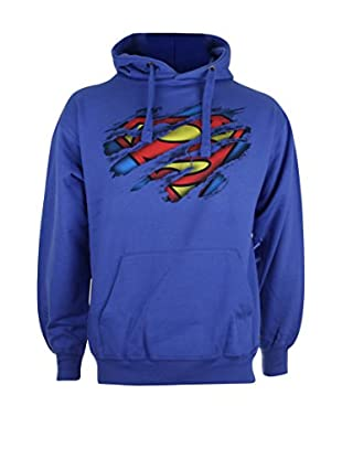 DC Comics Kapuzensweatshirt Superman Torn Logo