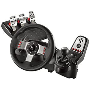 Logitech 941-000045 Video Game Racing Wheel and Foot Pedal (Black)
