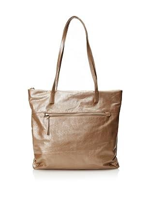 Latico Women's Talia Shopper Tote (Metallic Taupe)