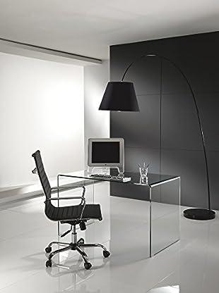 Contemporary Living Schreibtisch Bend transparent