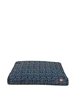 Small Rectangle Pet Bed, Navy