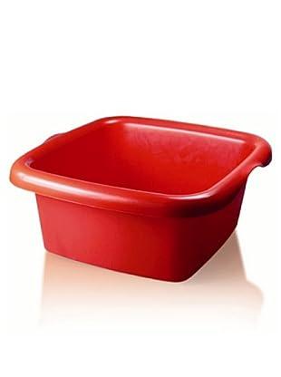 GiòStyle Bacinella Colors Rettangolare 10 Lt (rosso)