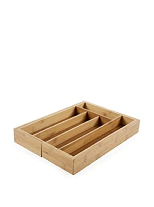 Core Bamboo Expandable Flatware Tray (Natural)