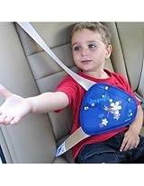 1pc Children Kids Car Safety Belt Adjuster Cartoon Triangle Fixing Device