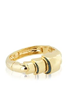 Kara Ross Tiered Lizard Crescent Cuff