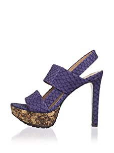 Lisa by Donald J Pliner Women's Dava Platform Sandal (Jean/Rock)