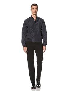 Pal Zileri Lab Men's Zip-Up Jacket (Blue)