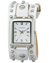Vernier Women's VNR11154WT Vernier Analog Display Japanese Quartz White Watch