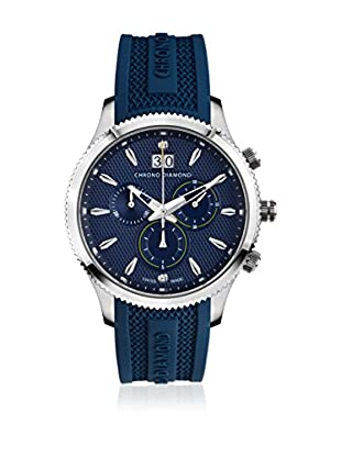 Chrono Diamond Reloj con movimiento cuarzo suizo Man 12000Cr Okeanos Azul Noche 41.0 mm