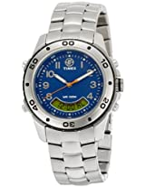 Timex Expedition Analog-Digital Blue Dial Unisex Watch - T45221