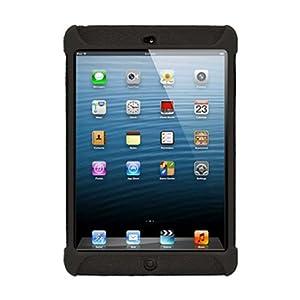 Amzer 94581 Silicone Skin Jelly Case - Black for Apple iPad mini